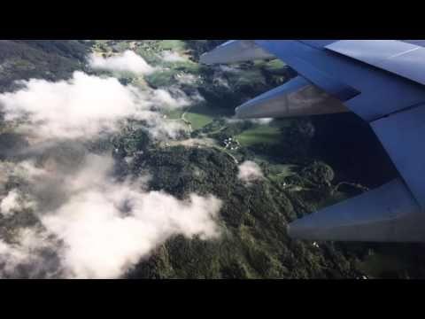 Flight from Helsinki to Oslo  Lento Helsingistä Osloon   INDIVUE