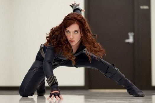 40 donne per cui perdere la testa al cinema e in TV - Vedova Nera - The Avengers (2012)