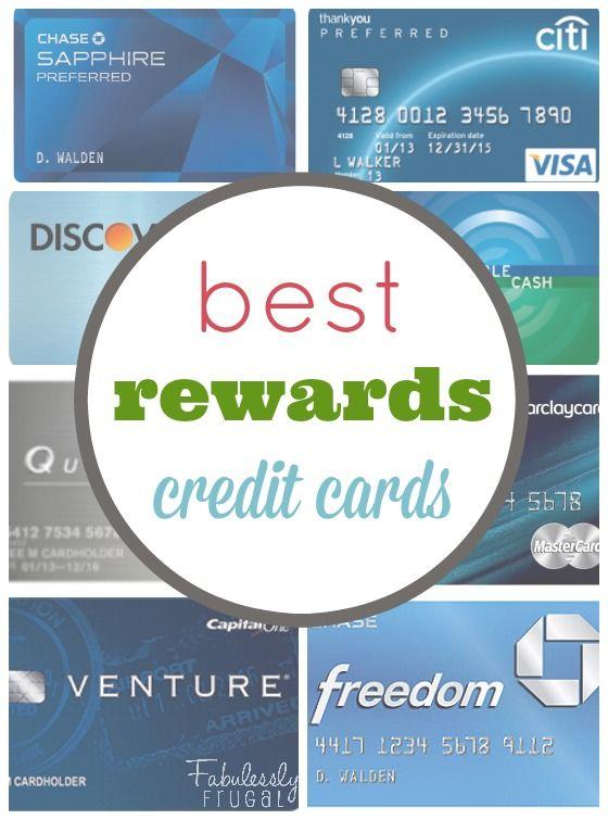The Best Rewards Credit Cards 2015