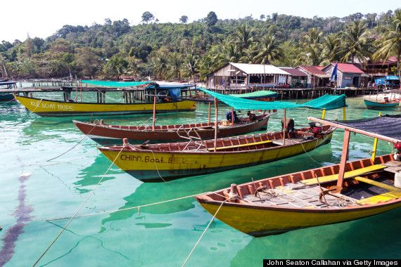 Koh Rong, Cambodia. Visiting Cambodia is like stepping into a screensaver. Stay in a bungalow, go snorkeling, visit fishing villages. This place is like Thailand 20 years ago.