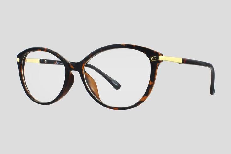 #Brillen van Nisi. Dit is de Cardinal Point (art. nr. F10.702UBL), complete bril vanaf € 29,90. #Montuur van schildpad design met goudkleurig plastic. Verkrijgbaar in nog twee andere kleuren.