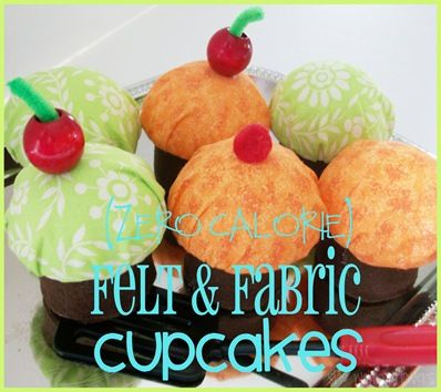 (Zero Calorie) Cupcake {Tutorial} for pin cushion?