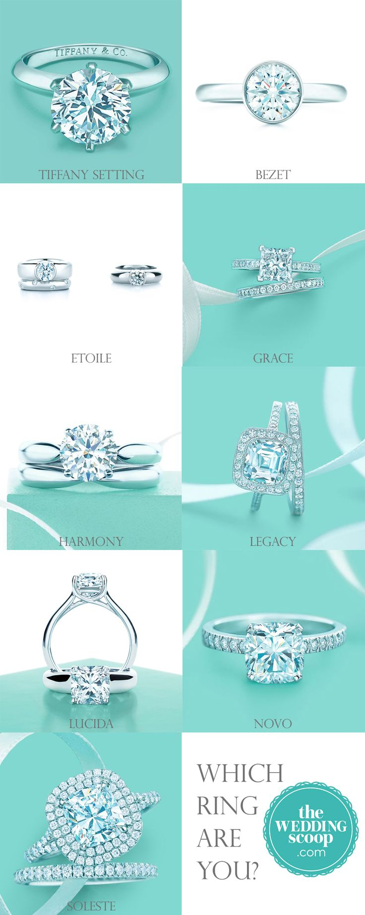 Find This Pin And More On Tiffany Or Tacori The Wedding Scoop's 8  Favourite Tiffany Engagement Rings