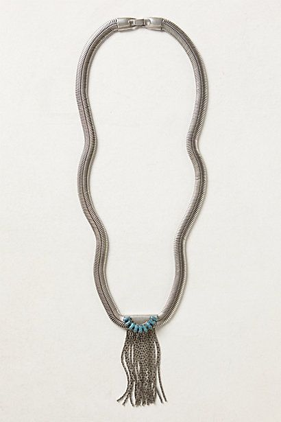 Fringed Serpens Necklace
