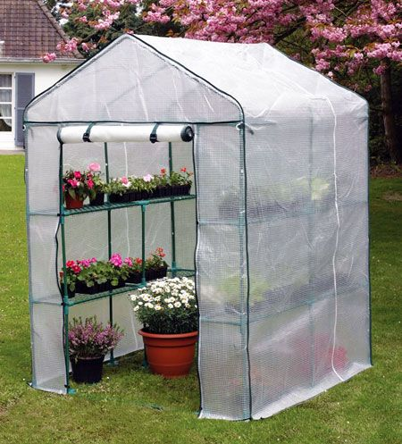 Walk In Small Greenhouses Gardening And Landscaping