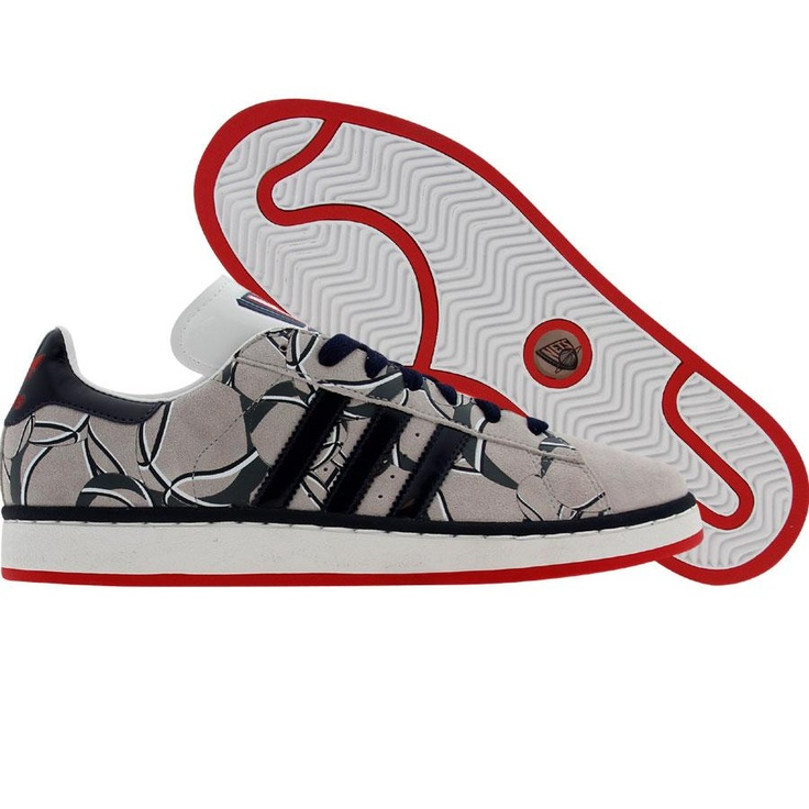 sale retailer 56cf1 af537 Adidas Campus II - New Jersey Nets (sigrnb  pannba  redsld) 044350 -