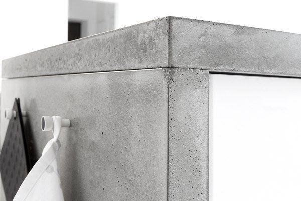 Kuchenny blat z betonu