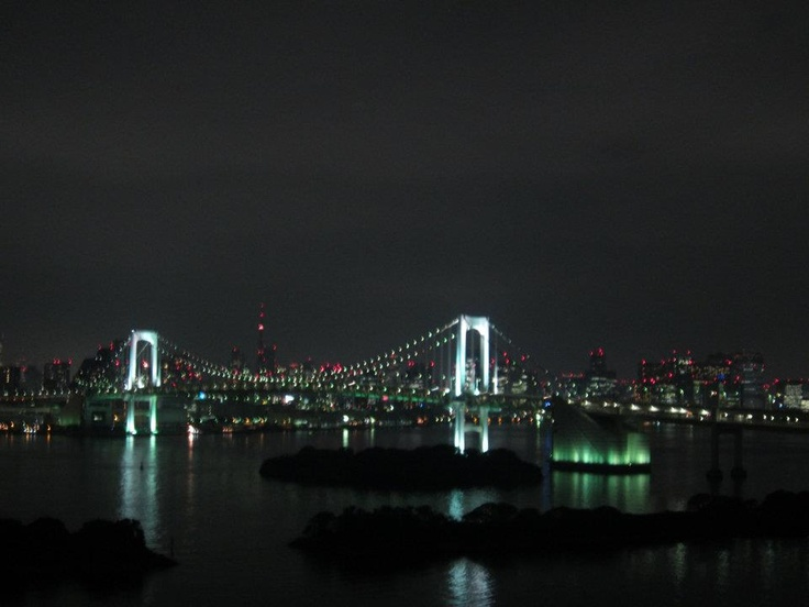 It's an amazing view of the Rainbow Bridge – never seen Tokyo from this perspective before  #webintravel #WITJapan