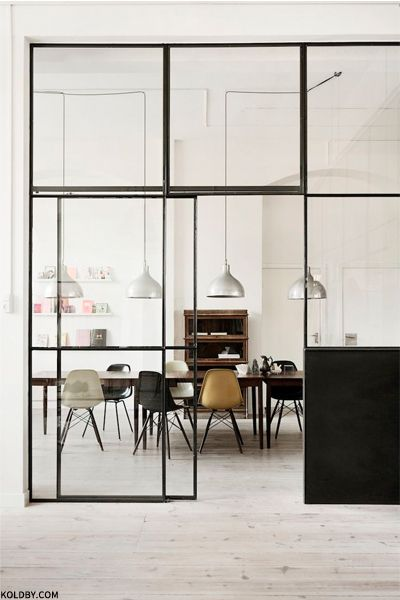 NIKKI: like the look of the thin steel windows- similar to the brass ones we have.
