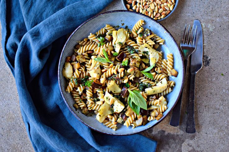 Anchovy and Aubergine Pasta