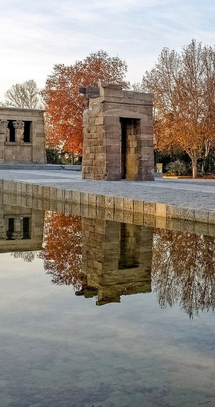 Templo de Debod | Spain's capital city is fairly underrated as far as European capital cities go. Here are 50 reasons why you should visit Madrid right now.