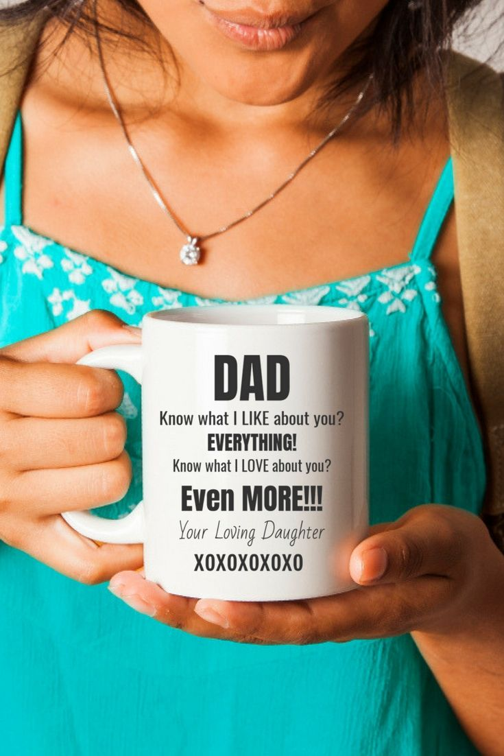 Coffee Cup Sure To Please Every Dad or Step-Dad from Daughter. Check it out!