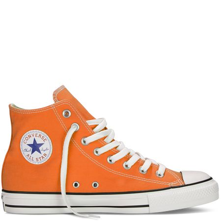 Oh my! ORANGE CHUCKS!!!! Chuck Taylor Fresh Colors exuberance