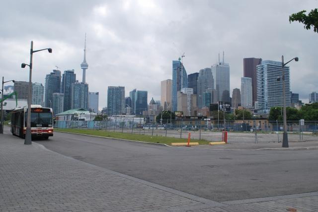 October 27, 2016: Skyline from Dockside Drive, image taken June 2014 by Marcus Mitanis #TBT #throwbackthursday #skyline #Toronto #UrbanToronto #city #buildings #architecure