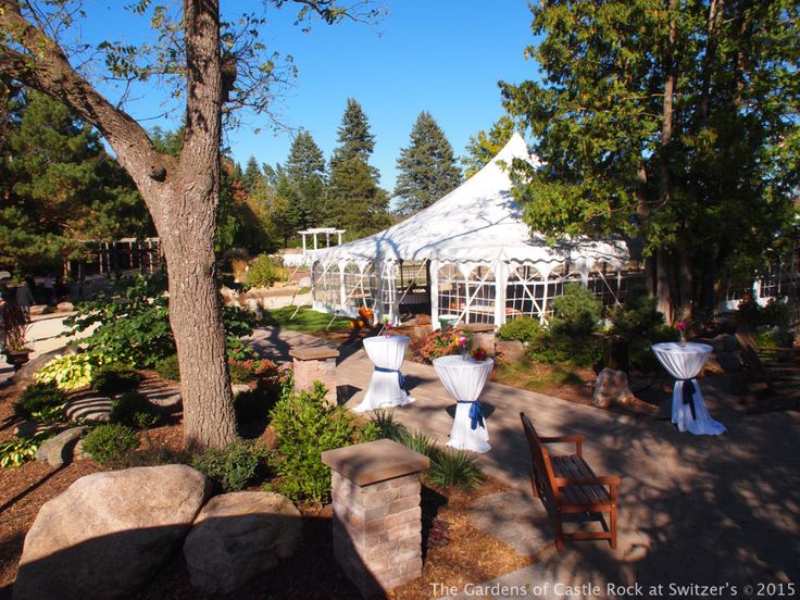 The Gardens Of Castle Rock: 17 Best Images About Outdoor Wedding Reception On