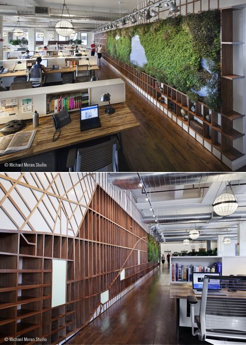 Open plan office with nature! #openplanoffice cubicles.com