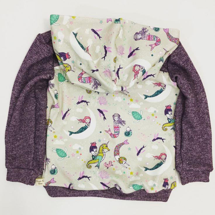 Baby/Toddler Hoodie / Mermaids / pullover / toddler sweater by BriarAndBoo on…