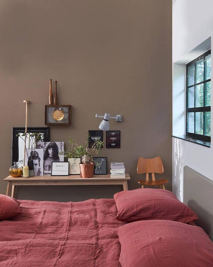 Kleuren woonkamer rood for Beste kleur slaapkamer