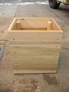Easy Wooden Planters