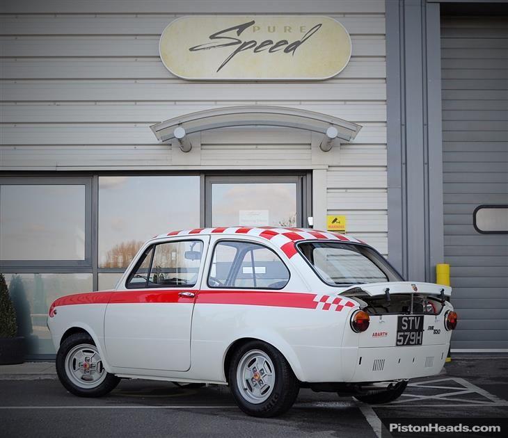Classic Fiat 850 Abarth