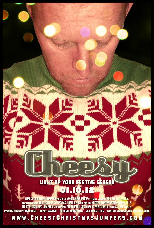 Light up your Festive Season This Autumn 01.10.12 - Cheesy Christmas Jumpers - LED light-up and Knitted Christmas Sweaters. http://www.cheesychristmasjumpers.co.uk