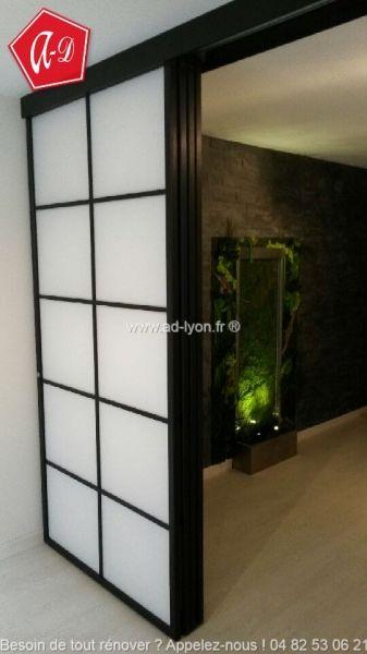 Les 25 meilleures id es de la cat gorie porte coulissante japonaise sur pinte - Fabriquer porte coulissante japonaise ...
