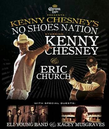 Kenny Chesney - Welcome to No Shoes Nation Concert Tickets for Foxboro, MA  show :)