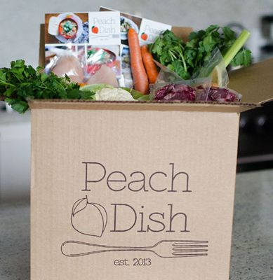 Enter to win a free box/weeks worth of PeachDish! A fresh food delivery service that provides you with everything you need to make 2 full meals for 2 people! http://stylishinsuburbia.com/2014/02/10/peachdish-giveaway/
