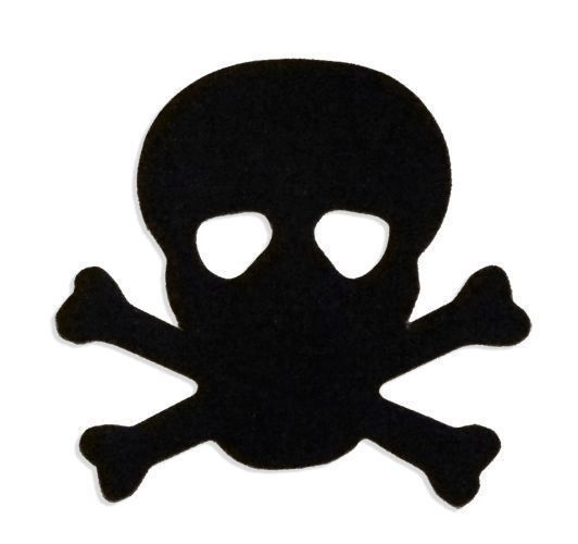 Tanning Bed Body Stickers Tattoos Pirate Skull Quantity 1000 on a Roll #TanningBedBodySticker