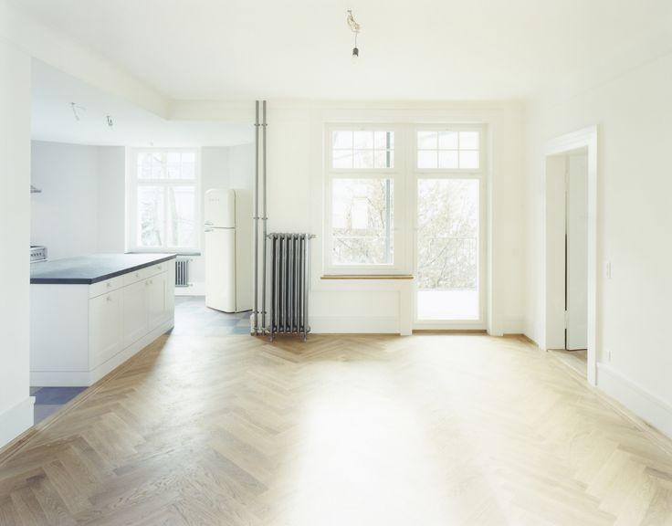 Sophienstrasse, Zürich: Offene Küche, Parkett, Wintergarten, Altbau, Smeg  Kühlschrank,