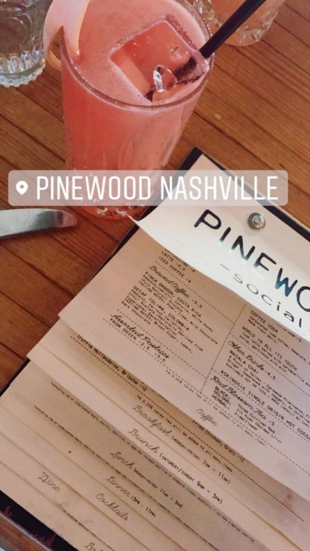 72 HOURS IN NASHVILLE: DAY 2 Insider tip: Pinewood Social makes amazing (deadly) cocktails for those who are willing to take a step outside the usual Bud Lite or glass of chardonnay. Check out more insider tips from my trip to Nashville on SharingGenes.com!