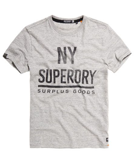 Superdry Surplus Goods Graphic T-Shirt Grau