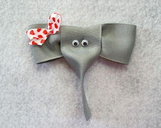 This blog is all about making bows - pretty cool. :) elephants