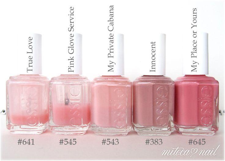 Essie Nail Polish Pink Glove Service | Hession Hairdressing