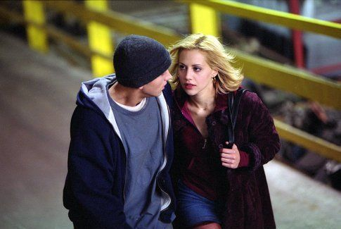 Eminem and Brittany Murphy in 8 Mile (2002)