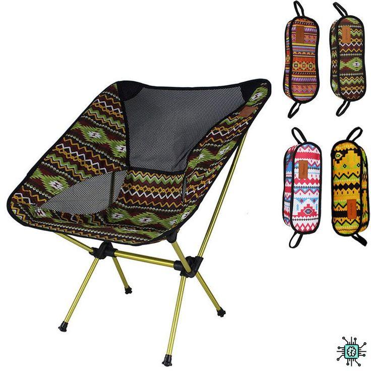Сверхлегкий туристический портативный складной стул для ...