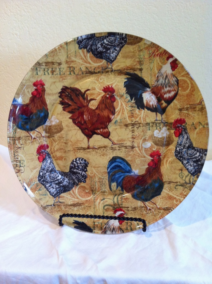 Roosters · Rooster PlatesRooster DecorRooster Kitchen ...