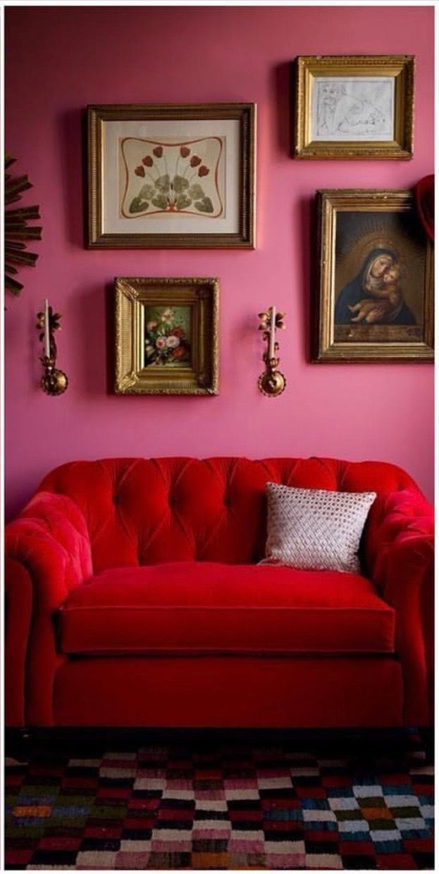 190 best Interiors - Colorful Rooms images on Pinterest | Colorful ...