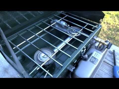 6 minutes to open a Coleman tent trailer - YouTube