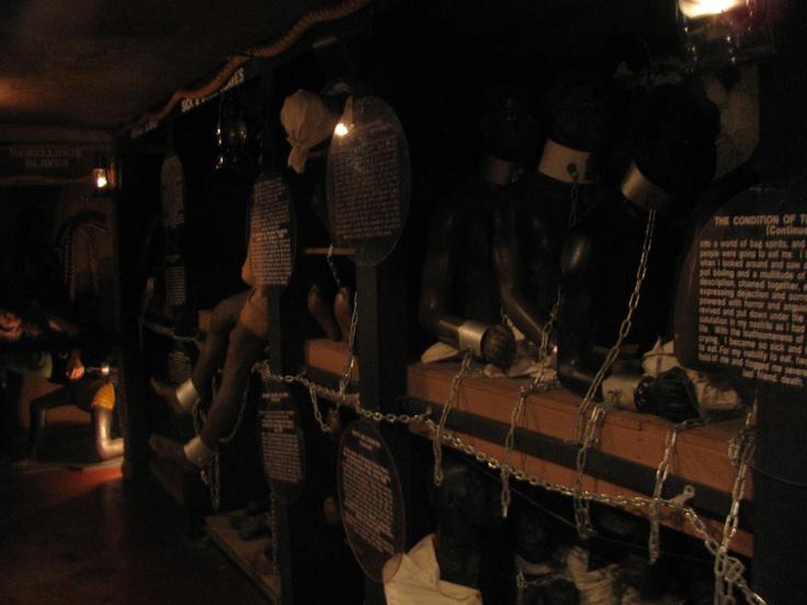 Slave Quarters during Trans-Atlantic Slave Route Ships ...