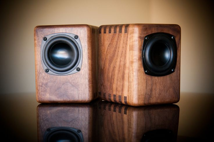 Wolf's PC, Sprite, and Voxel Subwoofer 2.1's in Walnut - Techtalk Speaker Building, Audio, Video Discussion Forum