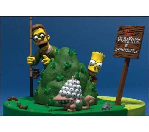The Simpsons Movie: Bart and Ned Flanders - What Are You Looking At?