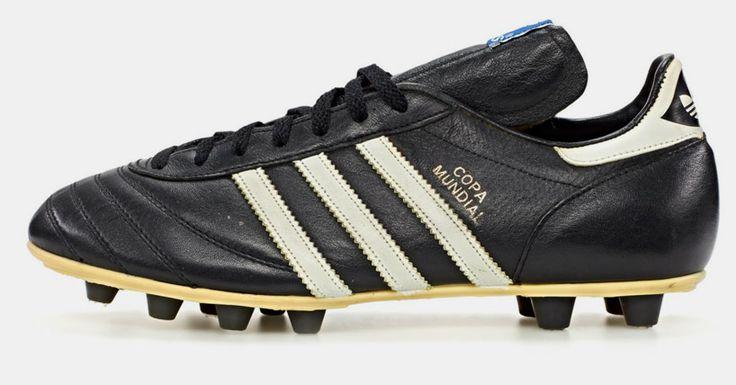 a history of adidas: classic football boots - designboom | architecture & design magazine