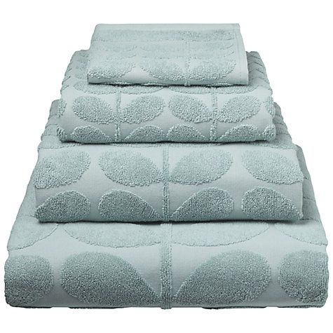 Buy Orla Kiely Sculpted Stem Towels Online at johnlewis.com