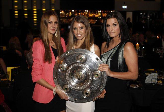 Las novias de los jugadores del Borussia Dortmund