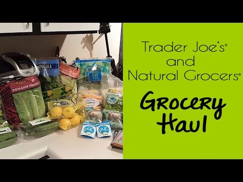 Trader Joe's & Natural Grocers Haul + Eat the Rainbow eCourse!