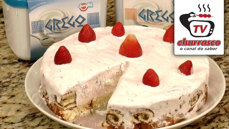 Receita de Torta de Sorvete Grego de Frutas Silvestres Jundiá - Tv Churr...                                                                                                                                                                                 Mais
