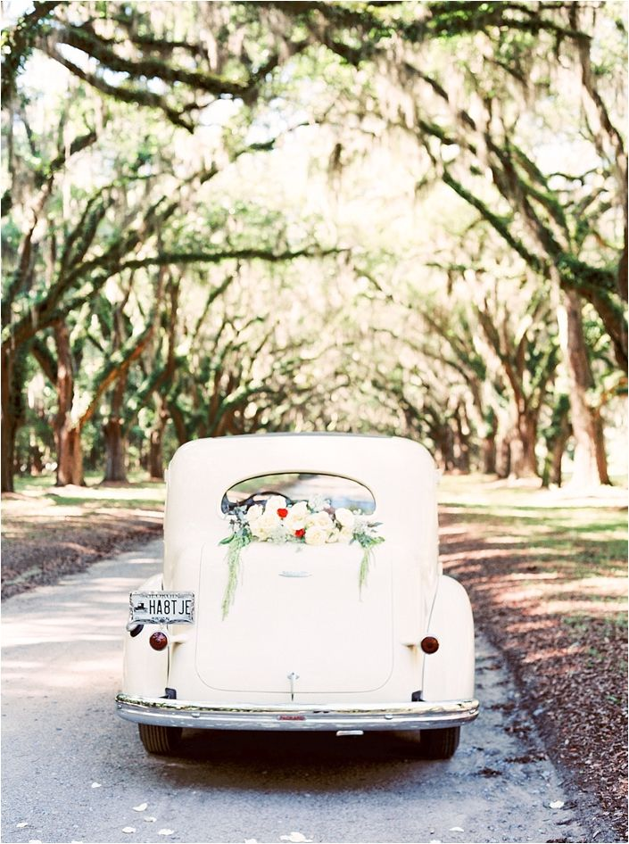 Vintage Getaway Car | Simply Sarah Photography