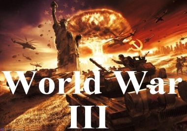 In light of recent developments particularly the happenings in Syria,  several heads of state hinting on the onset of a new world war, do you feel or think it is possible for this occurrence to happen?