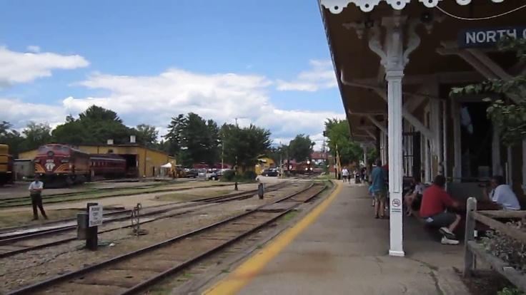 Ride the North Conway Scenic Railroad! Mount Washington Valley and White Mountain Family Fun Train Ride